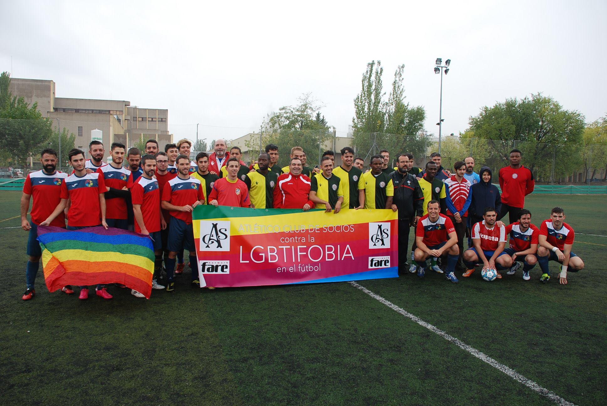 Partido de Fútbol 11 contra la LGTBIfobia