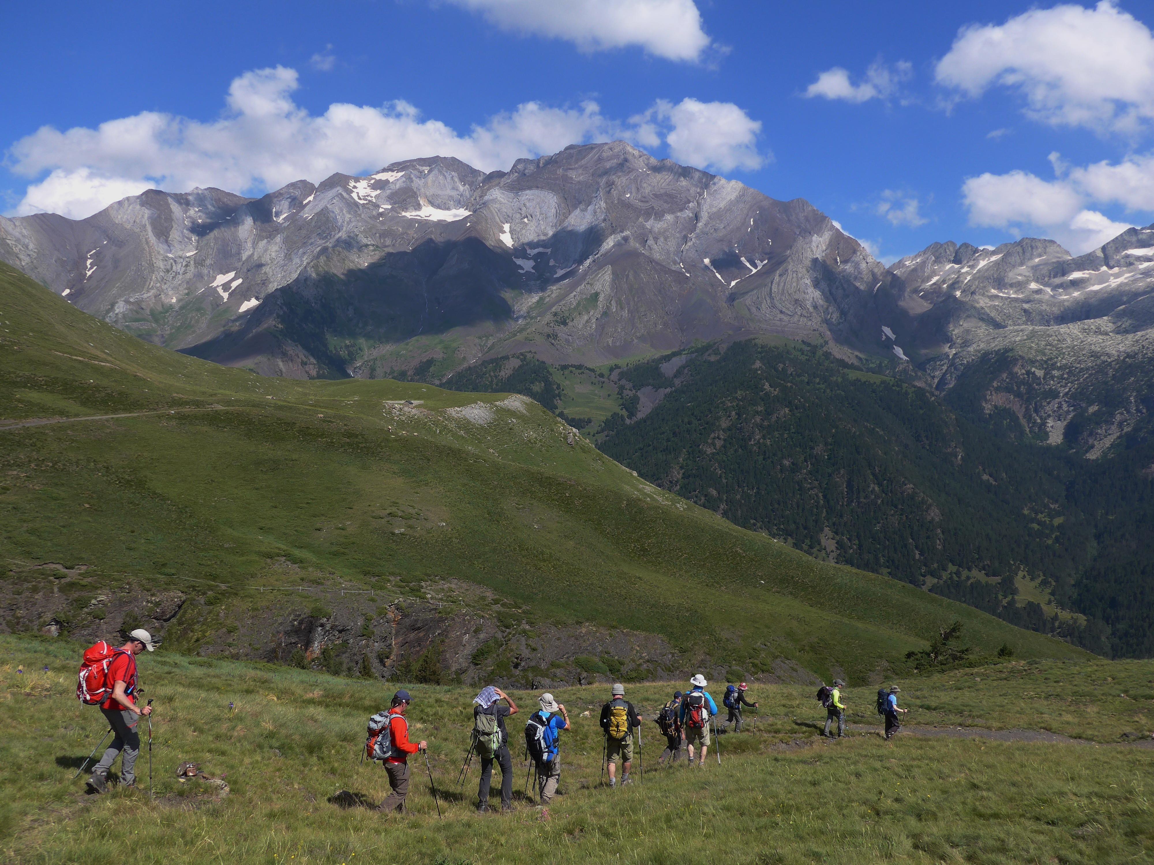 GMadrid Natación de senderismo en el Pirineo Aragonés