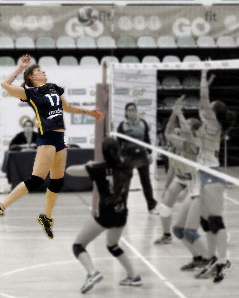 Conoce a Mica Rosenbaum, entrenadora de GMadrid Volleyball