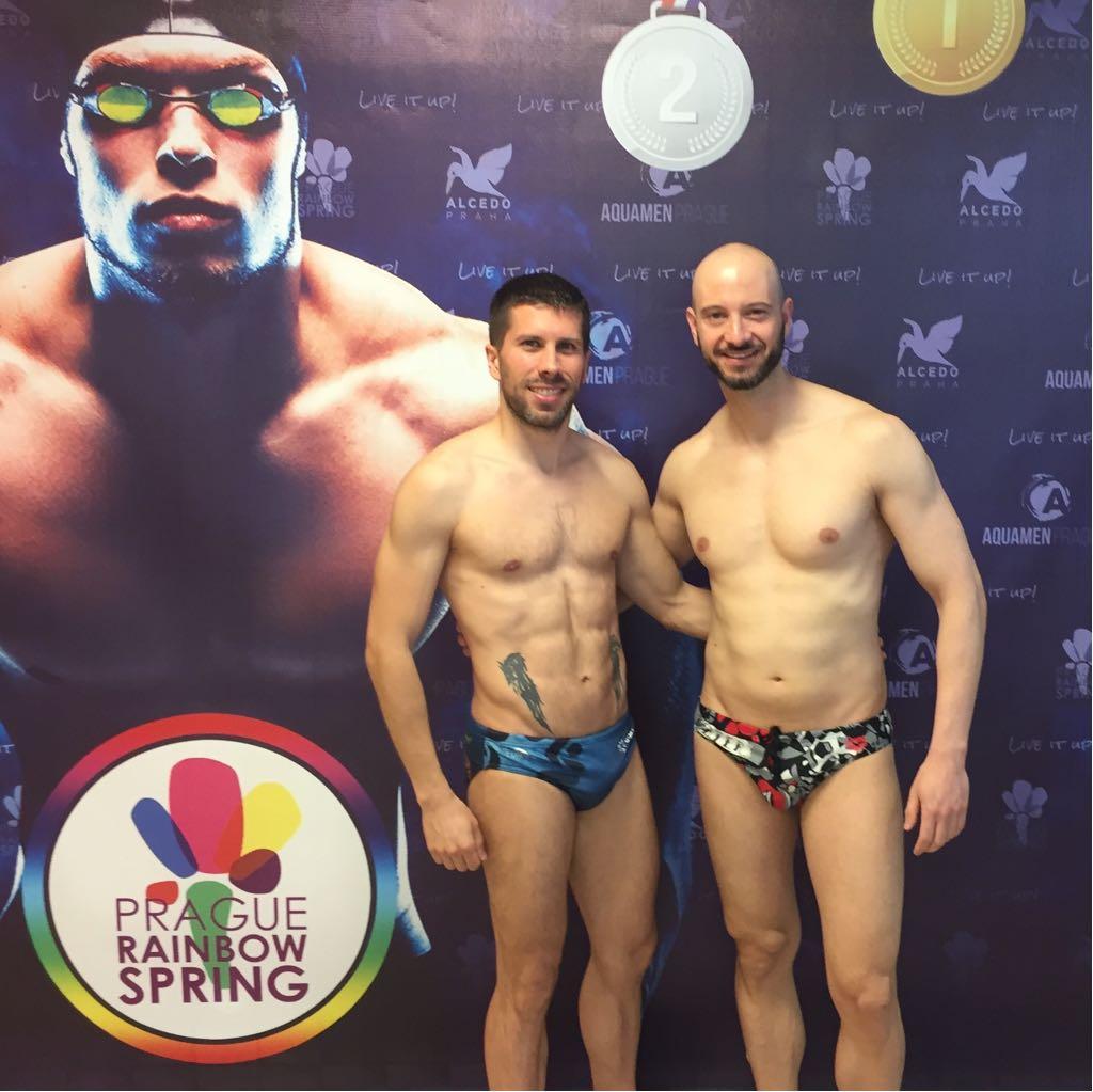 GMadrid Natación en el Prague Rainbow Spring 2018