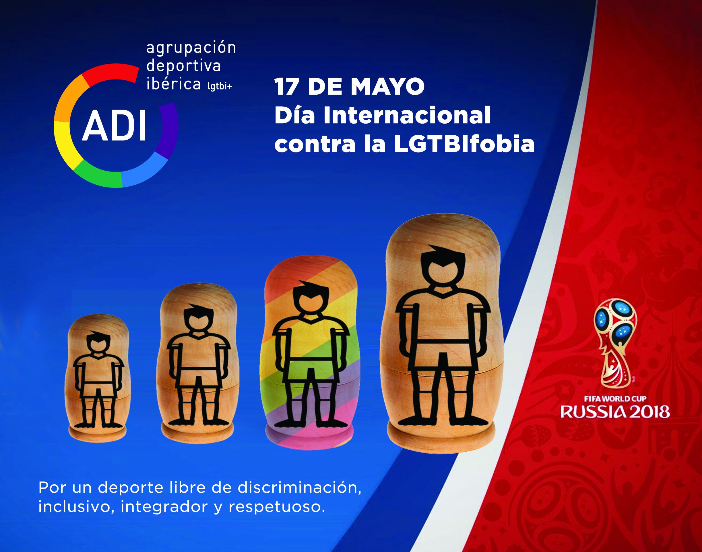 Manifiesto ADI por el Día Mundial contra la LGTBIfobia