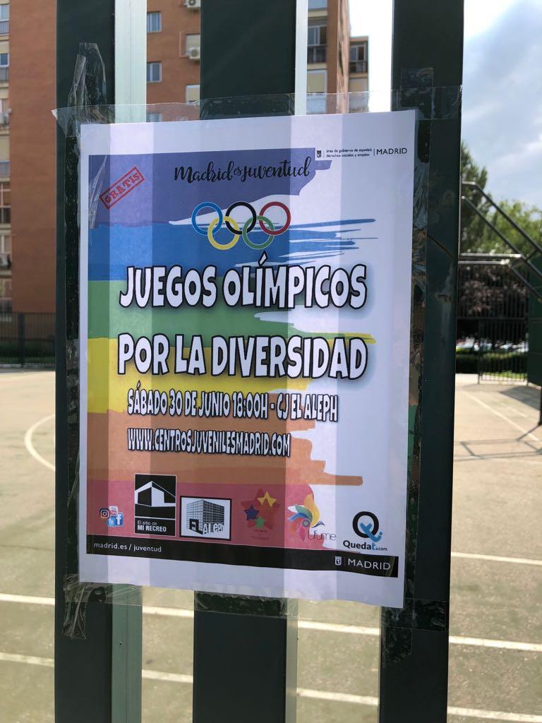 Juegos Olímpicos por la Diversidad del Ayuntamiento de Madrid