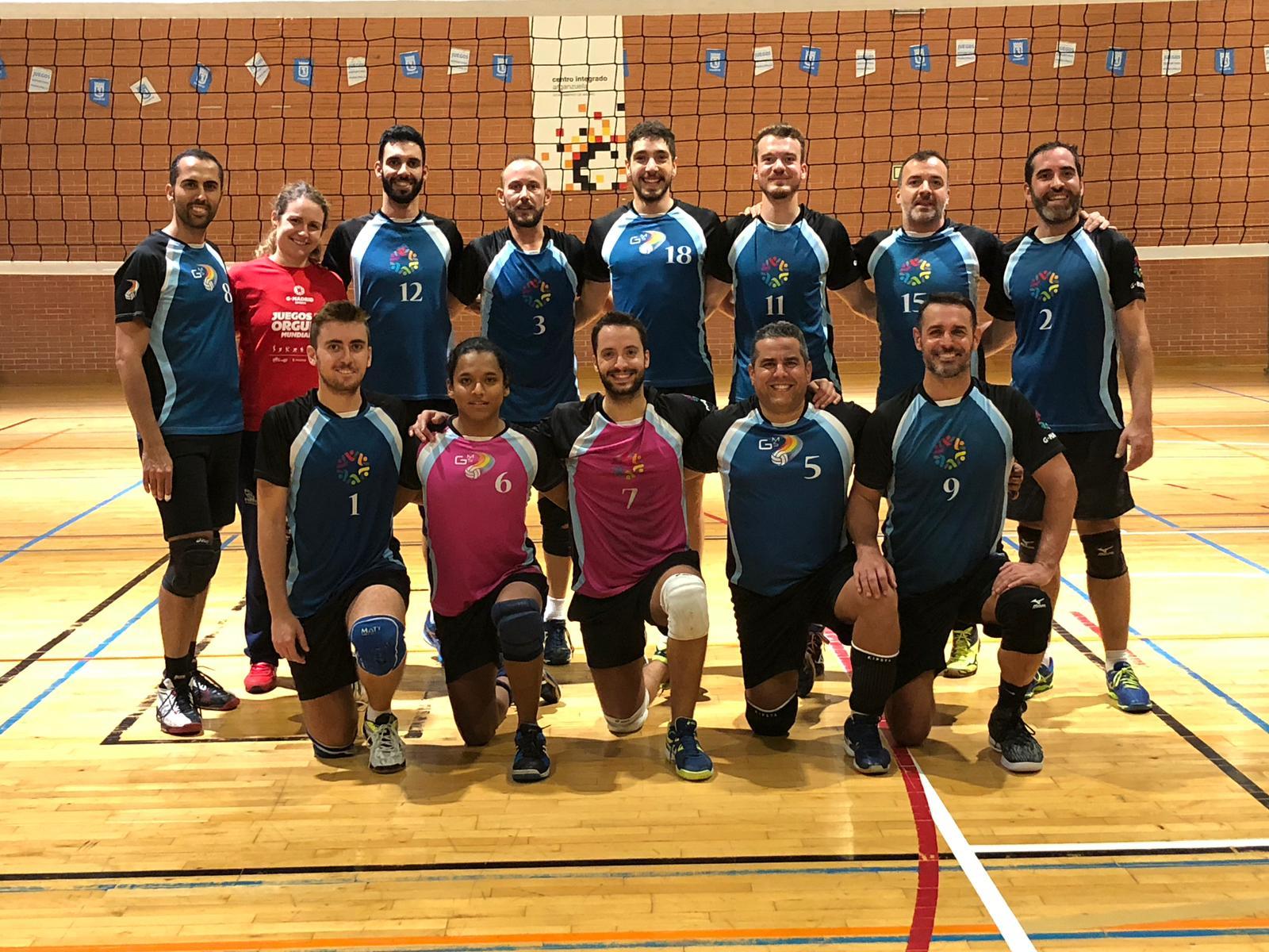 Empieza la temporada federada para GMadrid Voleibol