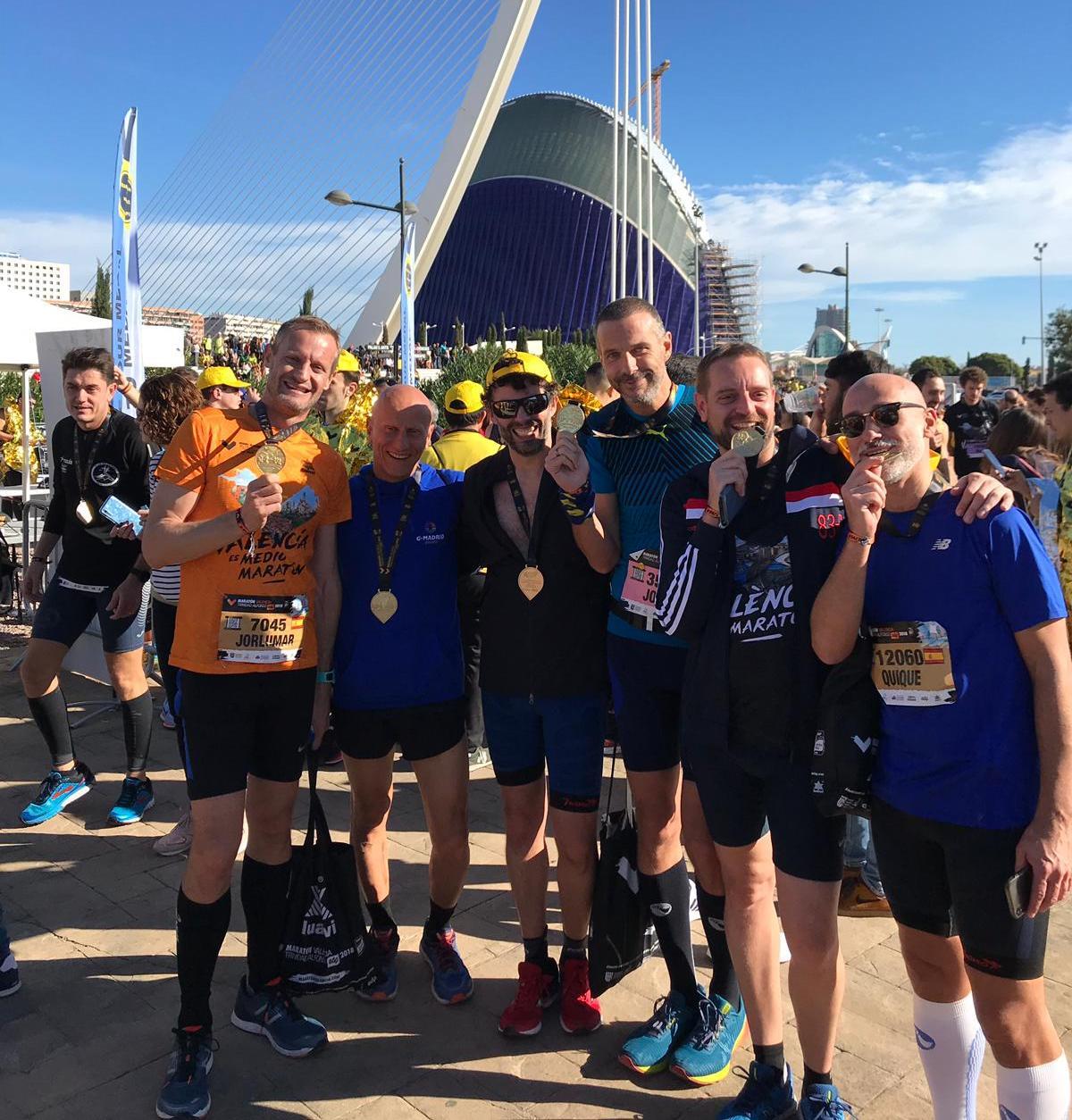 GMadrid Running en el mejor maratón de España