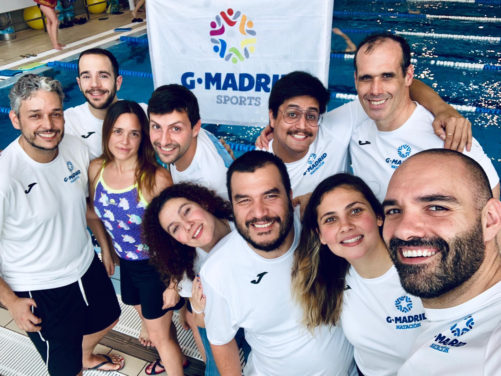 GMadrid Natación en el XXV Campeonato de España de Invierno Natación Máster