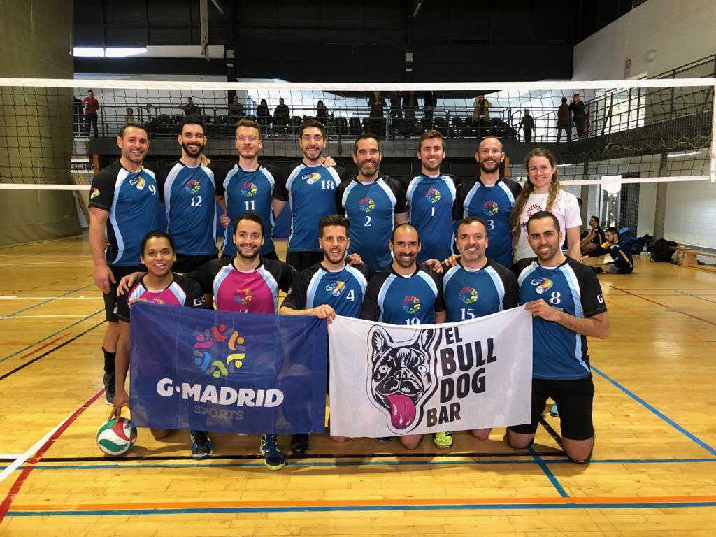 GMadrid Voleibol en semifinales de 1ª División Autonómica