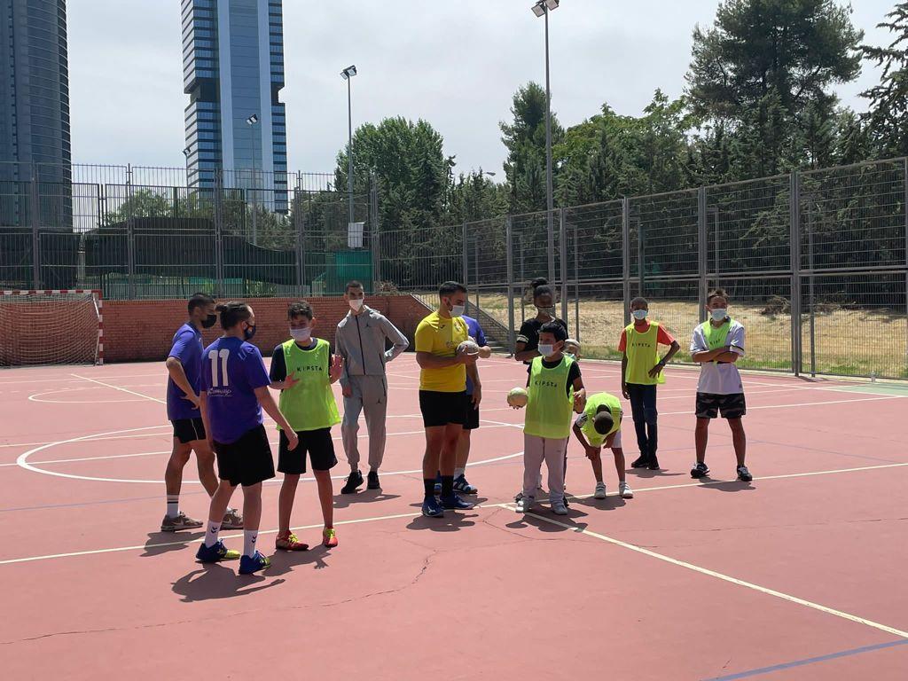 GMadrid Sports participa en las jornadas deportivas de 'A todo color'